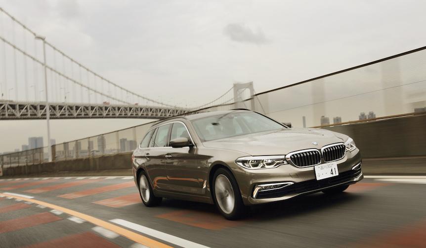 新型BMW5シリーズ ツーリングに試乗|BMW