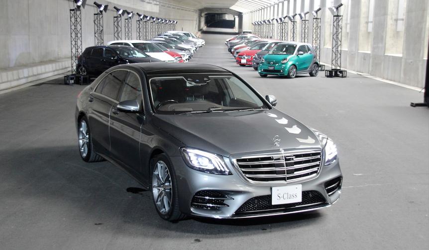 メルセデス・ベンツ Sクラスがフェイスリフト|Mercedes-Benz