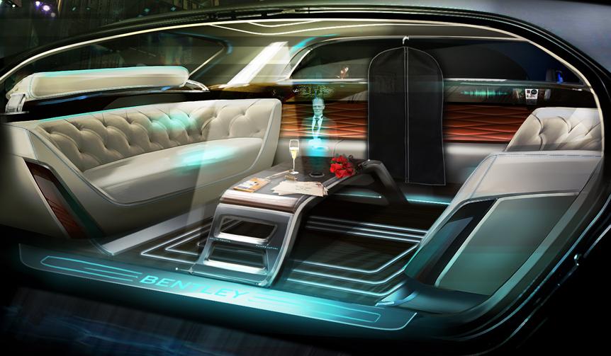 ベントレーが描き出す、未来のラグジュアリー|Bentley