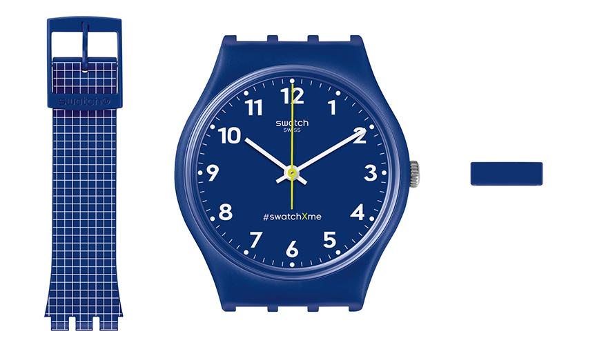 swatch|自分好みにカスタマイズできる「Swatch X You」
