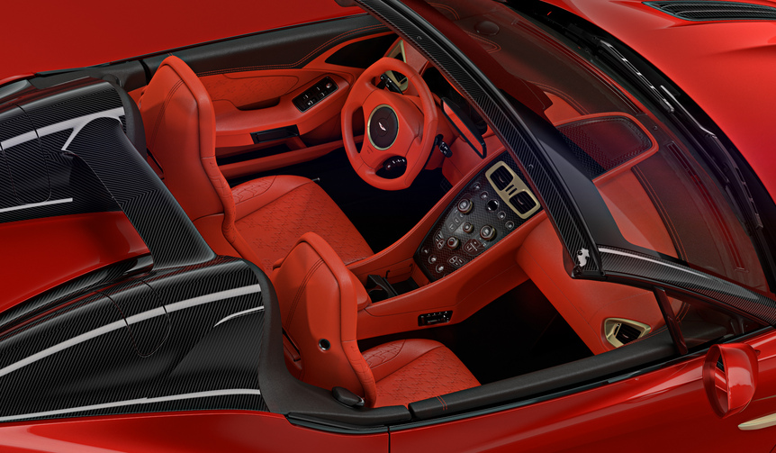 Aston Martin Vanquish Zagato Speedster アストンマーティン ヴァンキッシュ ザガート スピードスター
