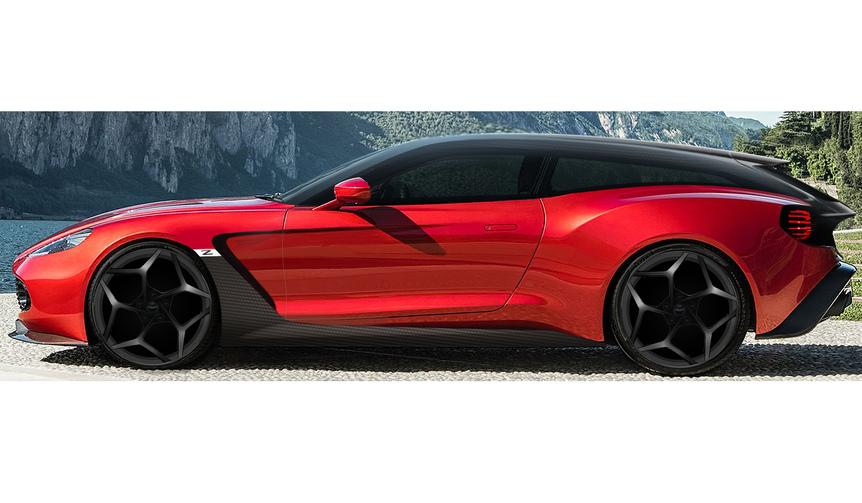 Aston Martin Vanquish Zagato Shooting Brake アストンマーティン ヴァンキッシュ ザガート シューティングブレーク