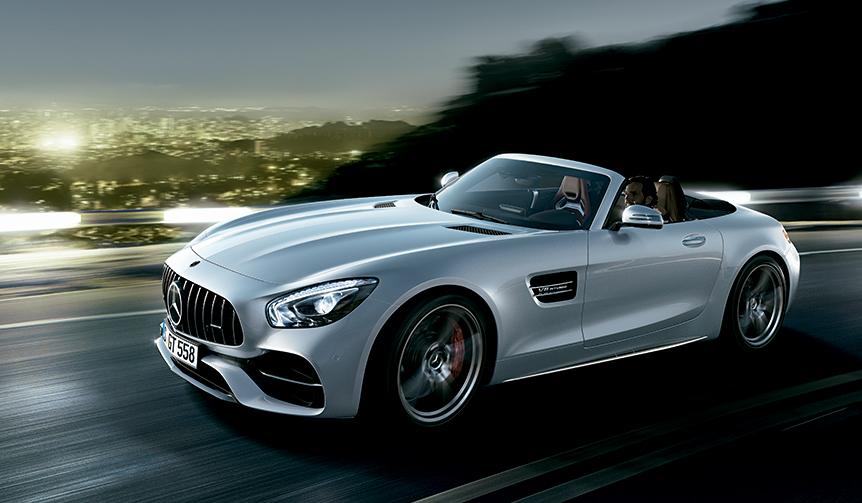 メルセデスAMGのオープンモデル「GT/GT Cロードスター」登場|Mercedes-AMG