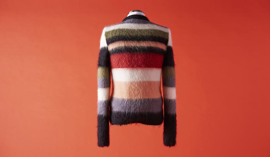 vol.3 クルーネックの柄セーター Saint Laurent|サンローラン