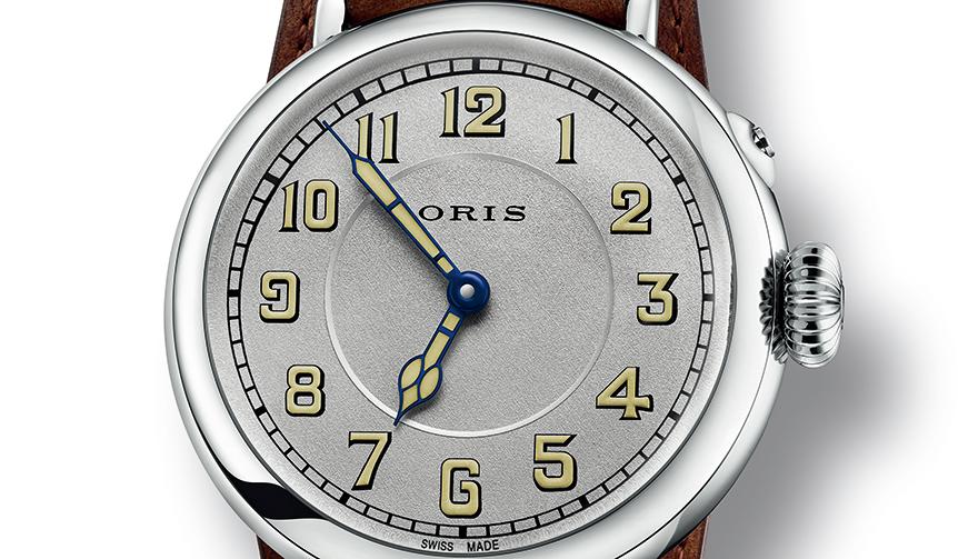 ORIS|1917年に製造されたオリス初の腕時計を、現代技術を用いて完璧に復刻