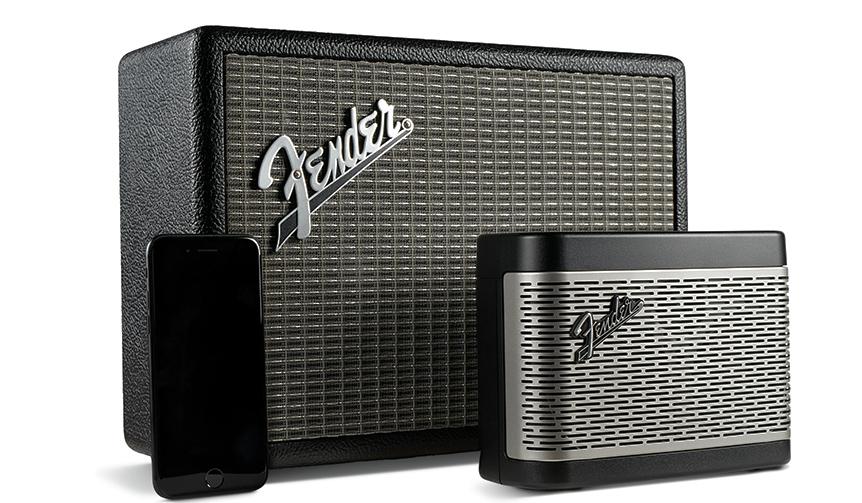Fender|定番アンプのデザインをフィーチャーした初のBluetoothスピーカー