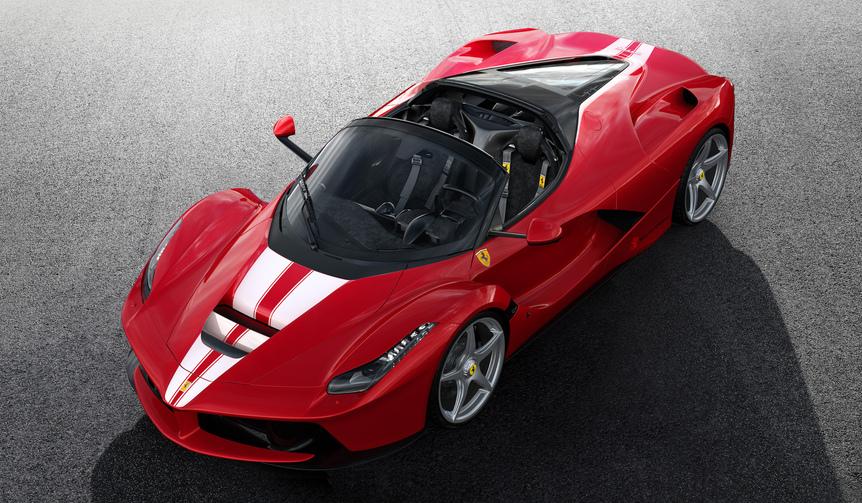 子供たちのために、特別なラフェラーリをオークションへ|Ferrari