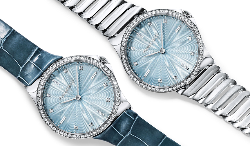 TIFFANY & CO.|ベゼルに58石のダイヤモンド。2017年の新作「ティファニー メトロ」