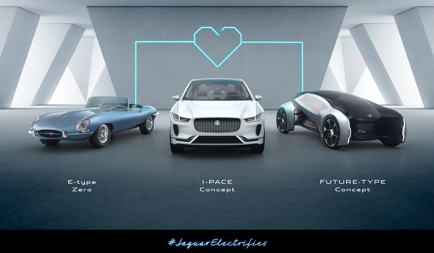 2020年までに全ラインアップに電動化モデルを設定することを発表|Jaguar Land Rover