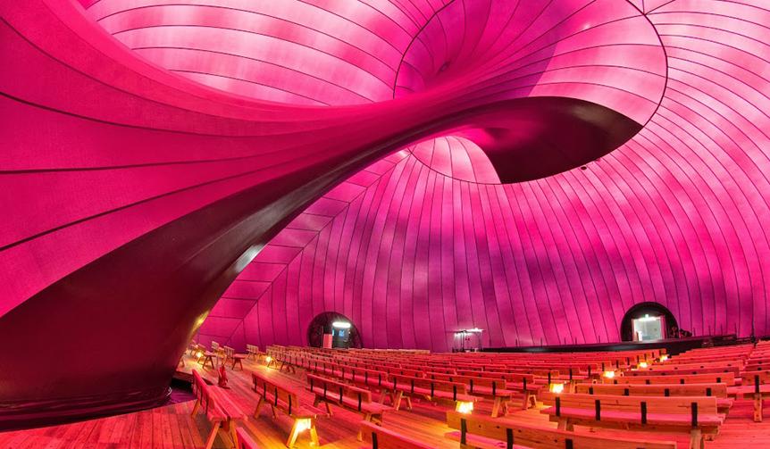 EVENT|移動式コンサートホール「アーク・ノヴァ」にて各種イベントを開催