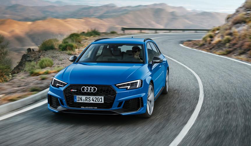 アウディが新型「RS4アバント」をIAAで初公開|Audi