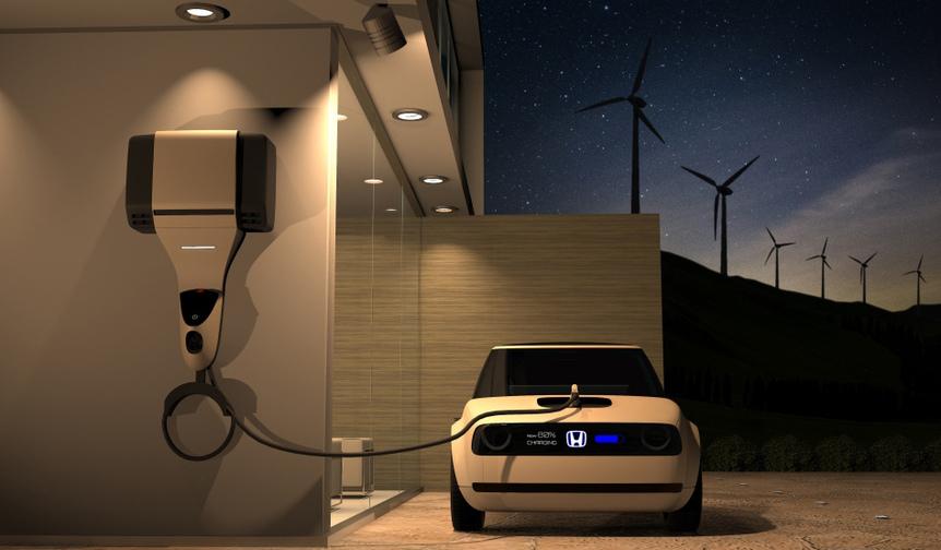2019年に欧州で発売する小型EVのコンセプトモデルを世界初公開|Honda