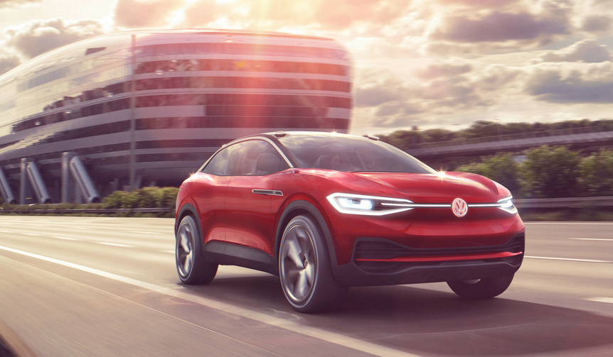 EVのSUVコンセプト「I.D.クロス II」をフランクフルトでワールドプレミア|Volkswagen
