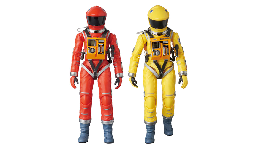 MEDICOM TOY|MAFEX  SPACE SUIT(ORANGE Ver./YELLOW Ver.)