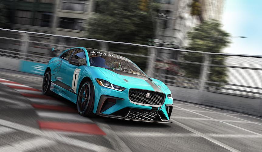 ジャガーがEVレース「Jaguar I-PACE eTROPHY」発表|Jaguar