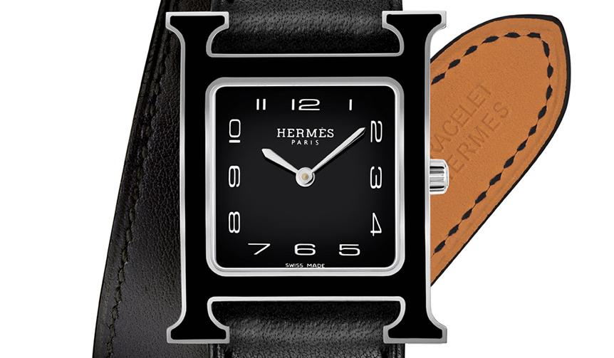 HERMÈS|BACK to BASIC ! ラッカー製のケース&文字盤で登場したHウォッチ