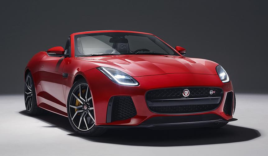 ジャガー「Fタイプ」2018年モデルを受注開始|Jaguar