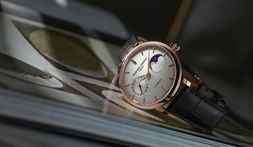 FREDERIQUE CONSTANT|「スリムライン ムーンフェイズ マニュファクチュール」の新作