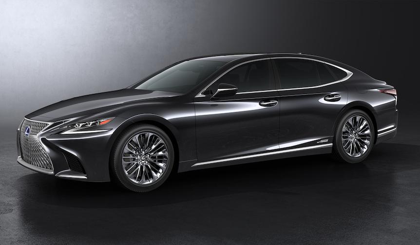 レクサス、東京モーターショーで新型LSを国内初公開|Lexus