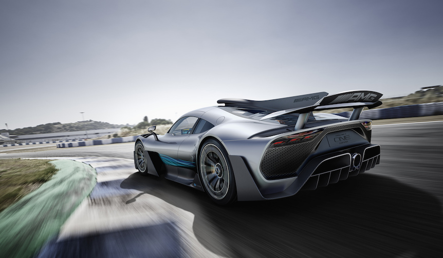 東京モーターショーで「AMGプロジェクト1」などをアジア初披露|Daimler