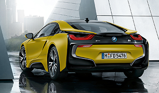 BMW i8 Protonic Frozen Yellow|BMW i8 プロトニック フローズン イエロー