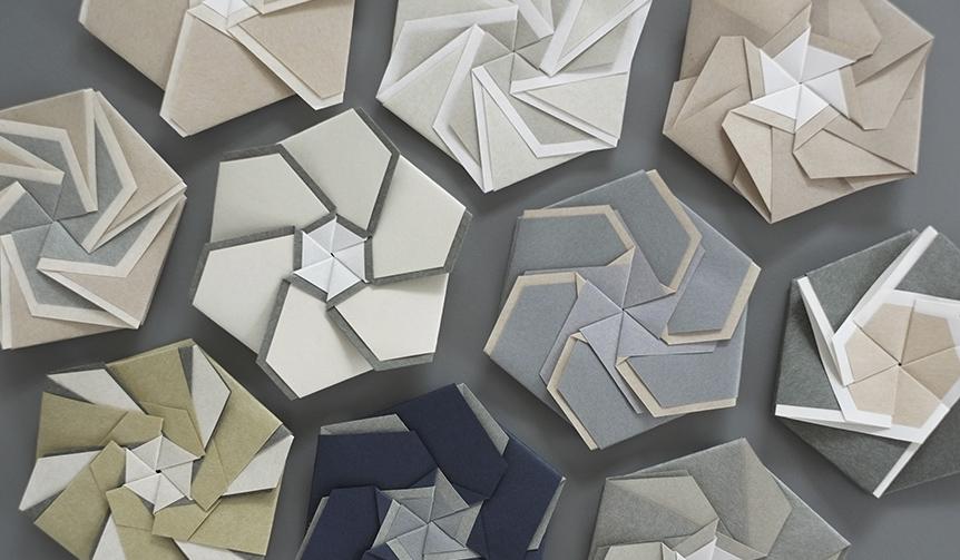 HOW TO WRAP_|折り紙作家・内山光弘氏の「花紋折り」をブランドの視点で再解釈