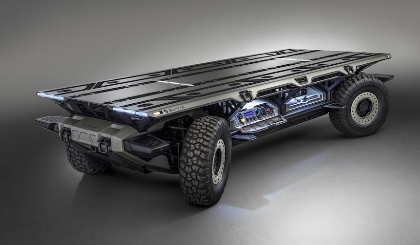 自動運転可能な水素燃料電池プラットフォームをGMが初公開|GM