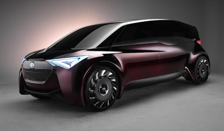 トヨタ、燃料電池自動車のコンセプトカーを発表 Toyota