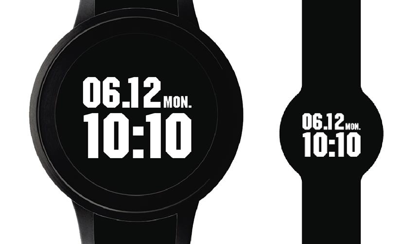 Sony テクスチャー自在のディスプレイウォッチ「FES Watch U」がDJ DARUMAとコラボ