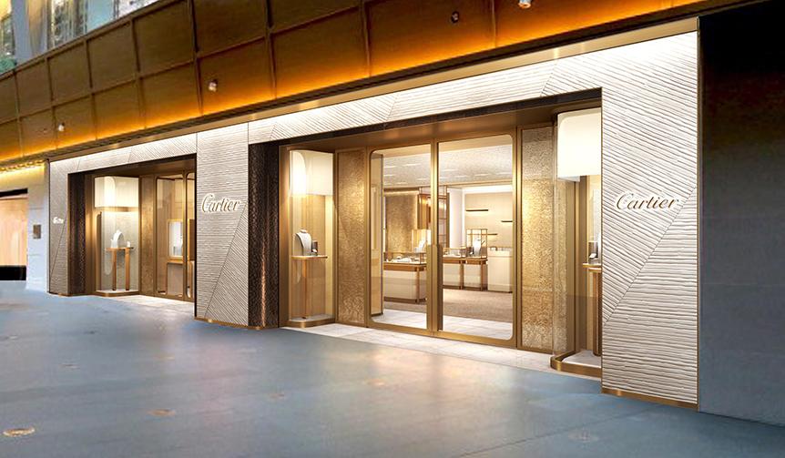 CARTIER|新ブティック 六本木ヒルズ店に期間限定ギャラリー「TANK 100」がオープン