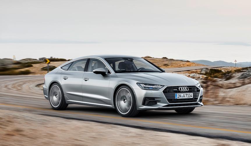 全車にマイルドハイブリッドを標準装備した新型A7スポーツバック|Audi