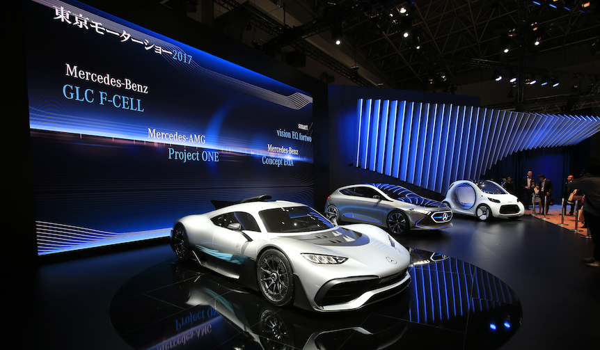 東京モーターショー 2017 リポート|Mercedes-Benz & smart