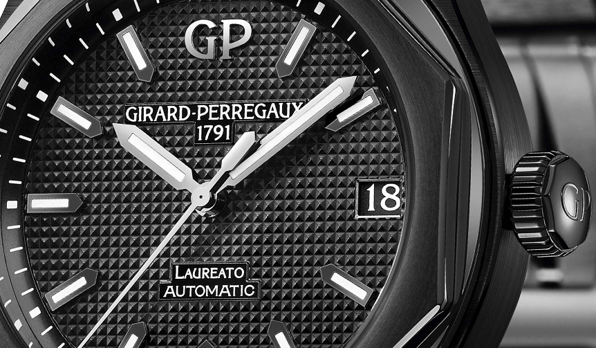 GIRARD−PERREGAUX|この艶、そして、この凄み。ロレアート42mmブラックセラミックモデル