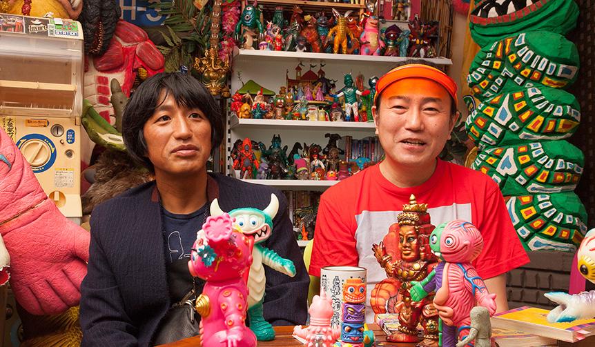 MEDICOM TOY|ミハラヤスヒロX怪獣芸術家ピコピコ先生 ちょっと長めの7000字怪獣放談