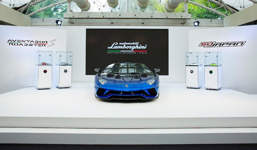 Lamborghini Aventador S Roadstar 50th Anniversary Japan|ランボルギーニ アヴェンタドール S ロードスター 50th アニバーサリー ジャパン
