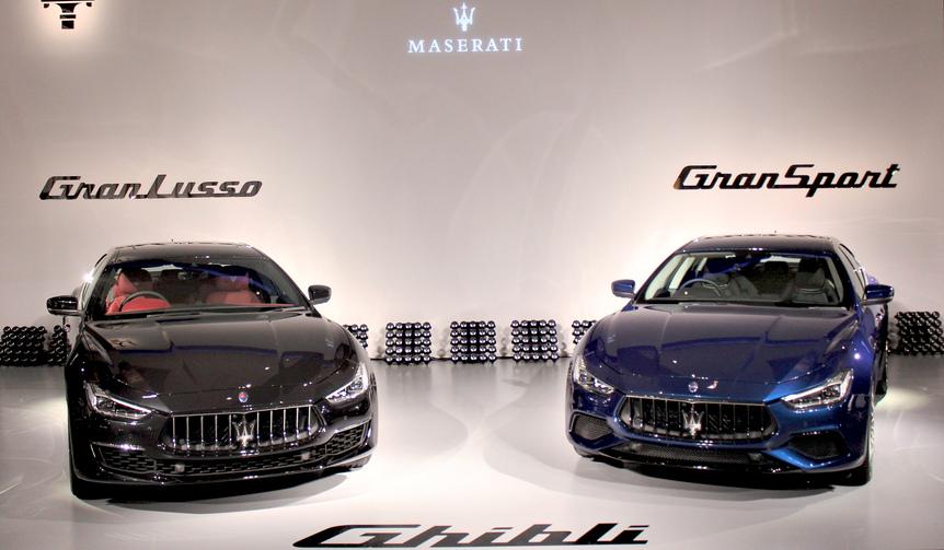 マセラティ2018年モデルを発表|Maserati