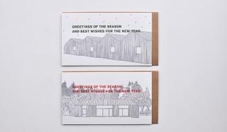 年末年始の挨拶に最適。新作のグリーティングカード |SAB LETTERPRESS