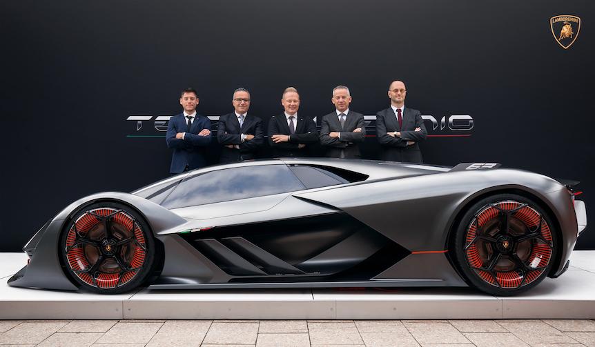 ランボルギーニ、EVスーパーカー「テルツォ ミッレニオ」披露 Lamborghini