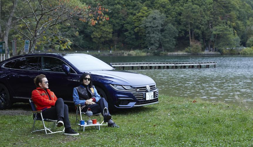 中村獅童がアルテオンで繰り広げるUnexpectedな旅 Volkswagen