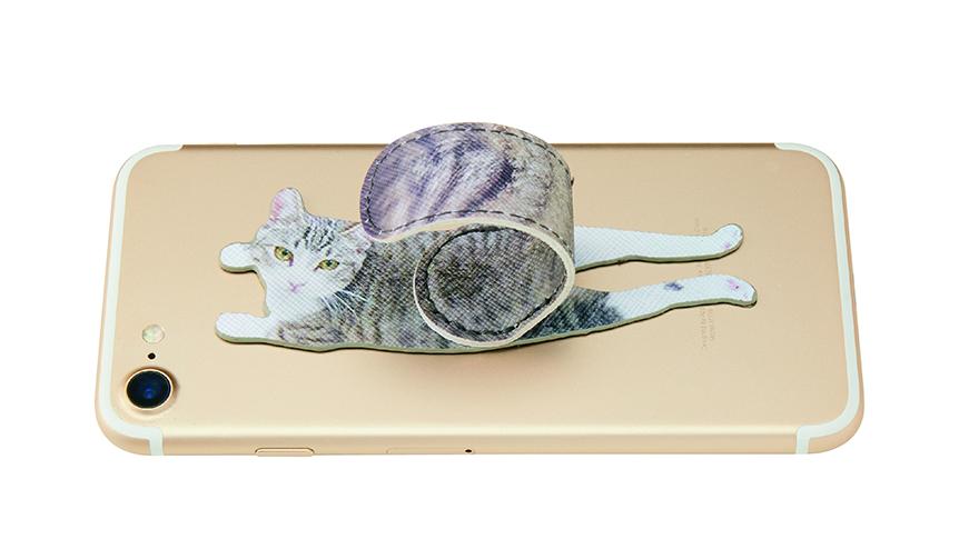 Felissimo|しっぽがくるりん! フェリシモ猫部より、猫のスマホアクセサリーが登場
