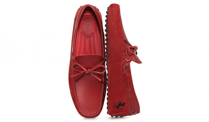 17A-TOD'S-for-Ferrari-ゴンミーニ-Red-66,000円