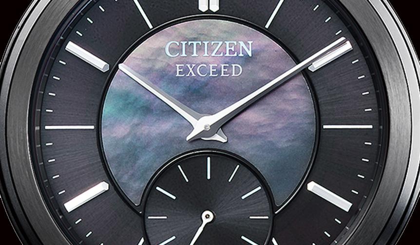 CITIZEN|誕生40周年を迎えた「シチズン EXCEED」から数量限定モデルが登場