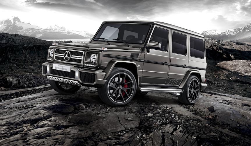 Gクラスに2種類の特別仕様車|Mercedes-Benz