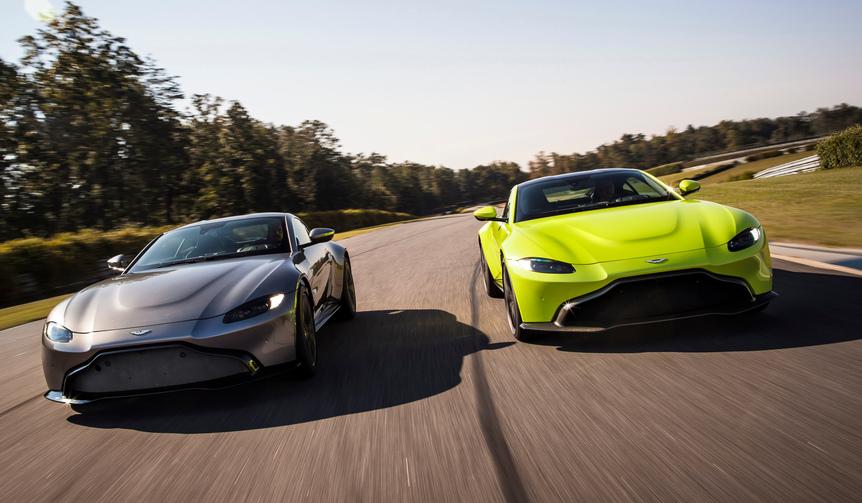 アストンマーティン、新型「ヴァンテージ」を世界6カ国で同時披露|Aston Martin