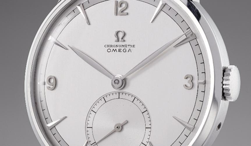 OMEGA|オメガ「1947製トゥールビヨン」1,428,500スイスフラン(約1.6億円)で落札
