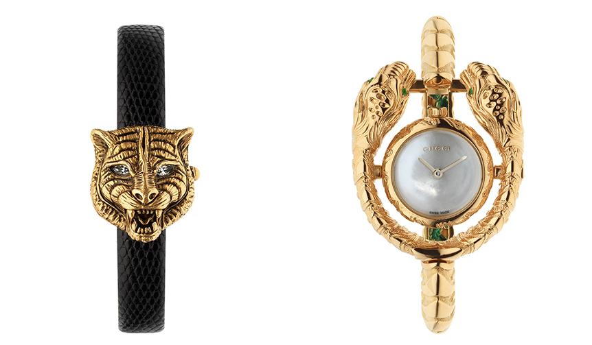 GUCCI|ゴールドなルックスが印象的なグッチの腕時計 2モデルが登場