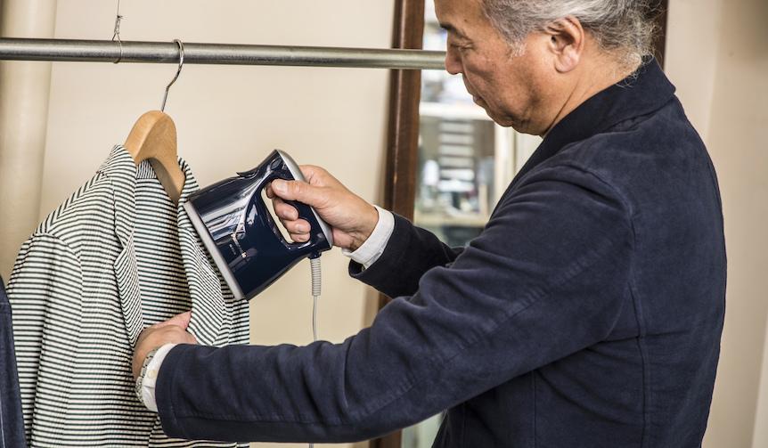 Panasonic|話題の<パナソニック 衣類スチーマー>をプロ視点で検証する。