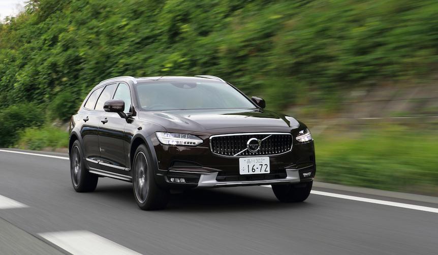 ボルボの新型V90 クロスカントリーに試乗|Volvo