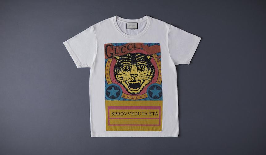 vol.10「ラグジュアリーな、プリントTシャツ」 GUCCI|グッチ(2)