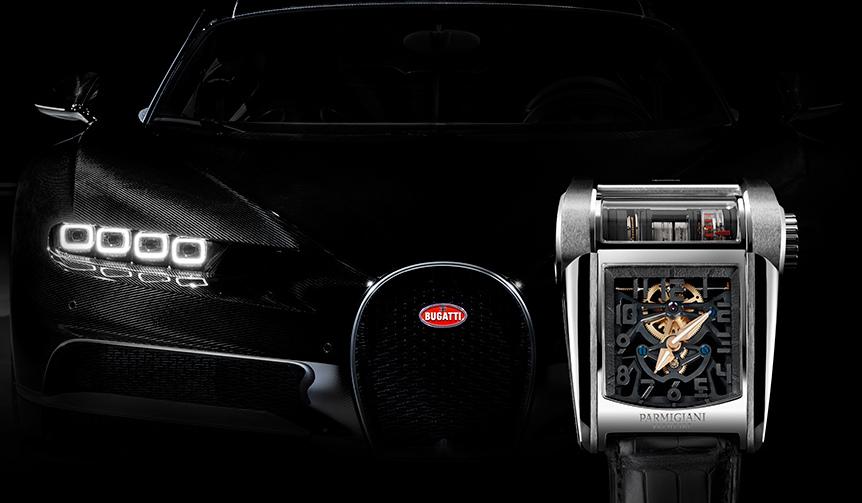 比類なき創造性、装着するエンジンブロック「ブガッティ タイプ390」|PARMIGIANI FLEURIER